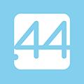 44 pointアプリアイコン