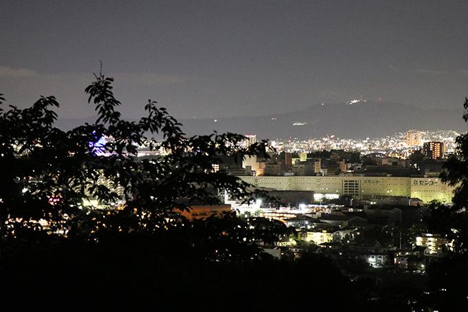 箕面山から見える大阪
