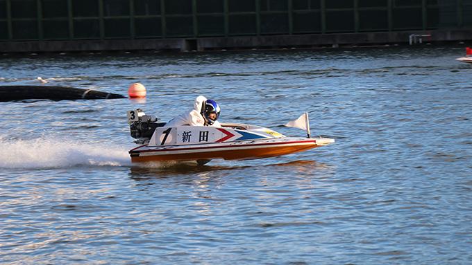尼崎ボートレース新田選手