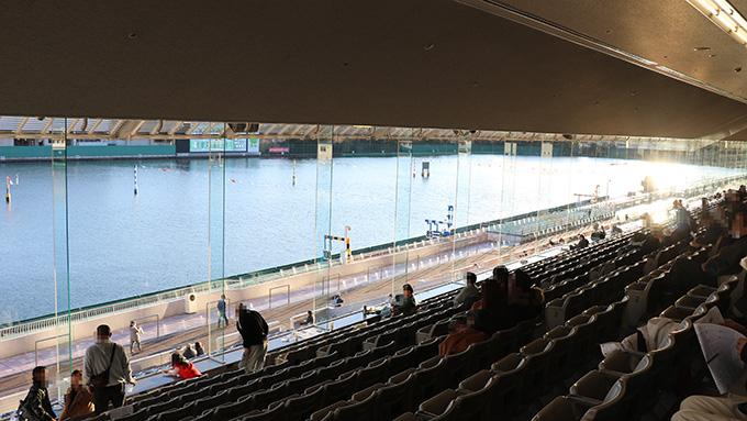 尼崎ボートレース 2階席