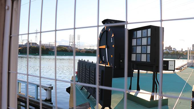 尼崎ボートレース 時計