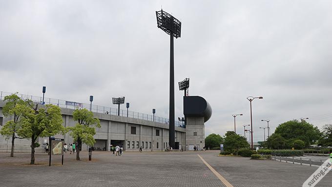 松山坊っちゃんスタジアム前